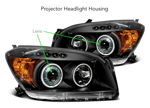 XenonPro - Projector headlight housing