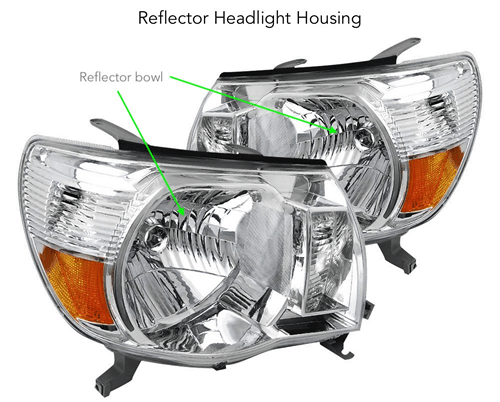XenonPro - Reflector headlight housing