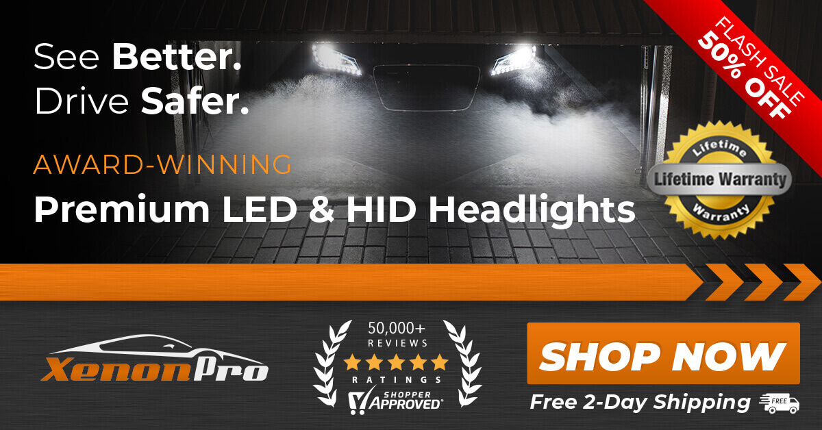XenonPro - LED & HID Headlight Kits Banner