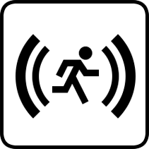 Motion Detection Sensor Icon