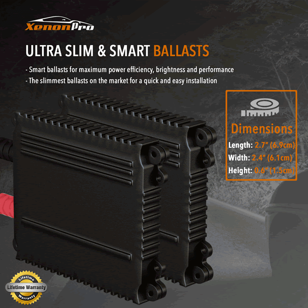 Ultra Slim & Smart HID Ballasts - XenonPro