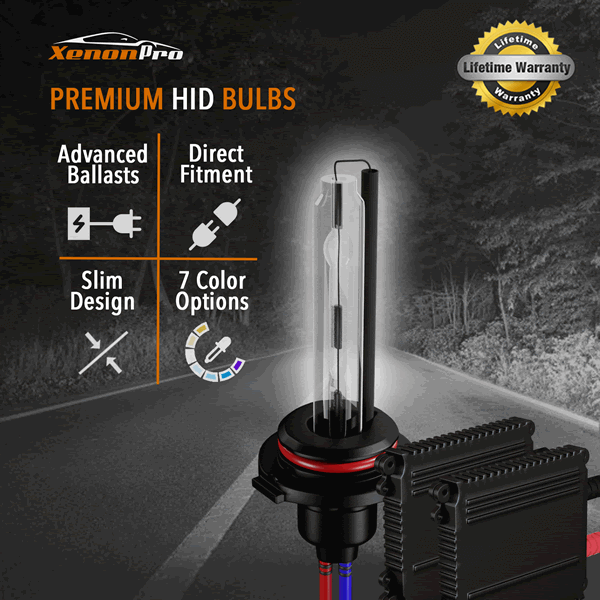 Advanced HID Headlights Bulbs - XenonPro