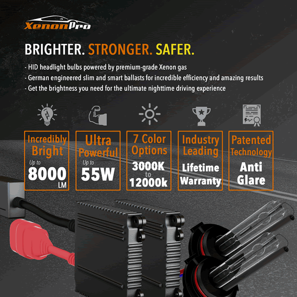 HID Headlights Brighter, Stronger, Safer - XenonPro