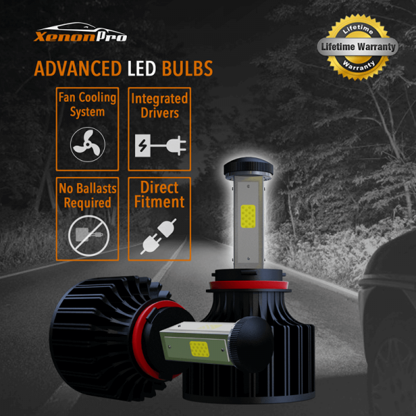 Advanced LED Headlights Bulbs - XenonPro