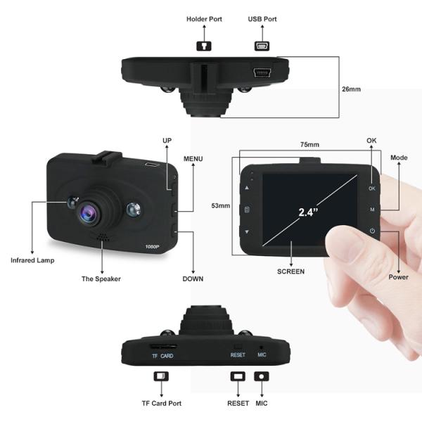 Dash Cam Specs (DC06) - XenonPro