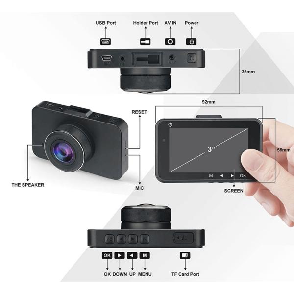 Dash Cam Specs (DC07) - XenonPro