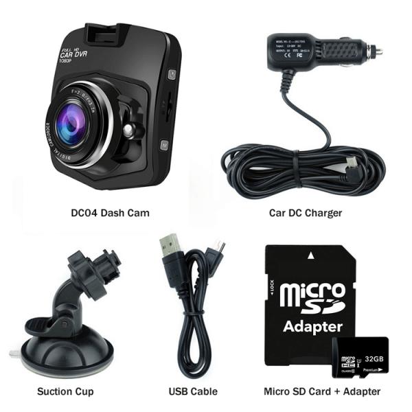 Dash Cam Kit (DC04) - XenonPro