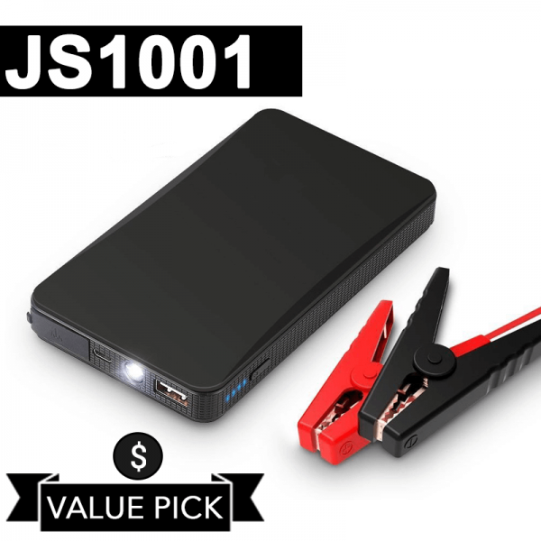 JS1001 - Portable Jump Starter & Jumper Cables