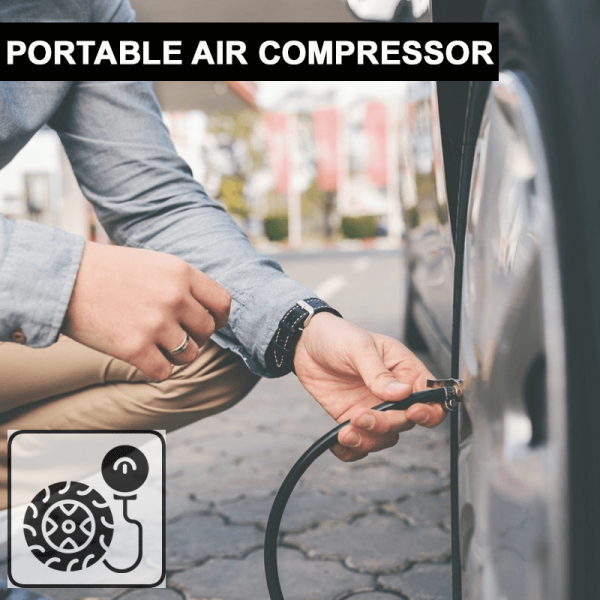 JS1003 - Portable Air Compressor