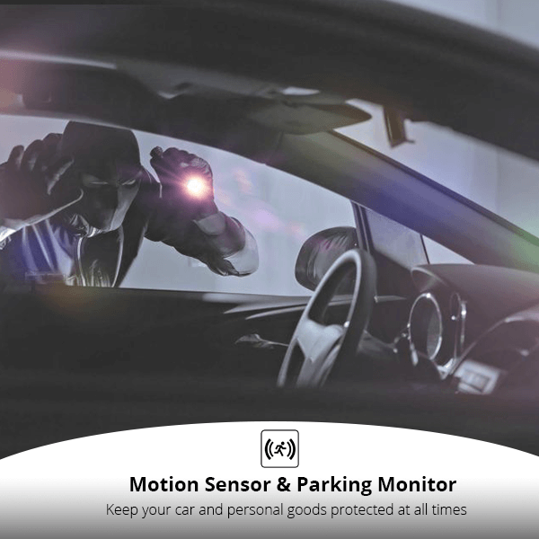 DC03 - Motion Sensor & Parking Monitor - XenonPro