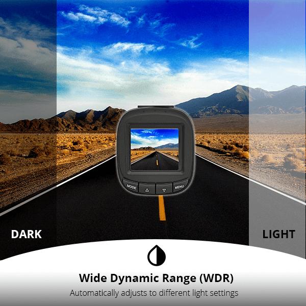 DC01 - WDR Dynamic Range - XenonPro