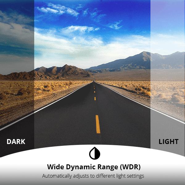 DC03 - WDR Dynamic Range - XenonPro