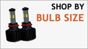 LED Headlights - Shop By Bulb Size